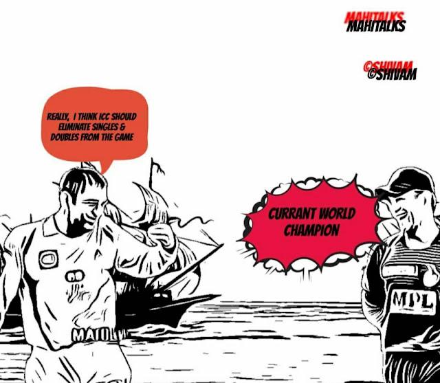 Msdhoni Image, Mahi Image, Dhoni Image, Eon Morgan, Daily Comics, World Cup ,England,  India