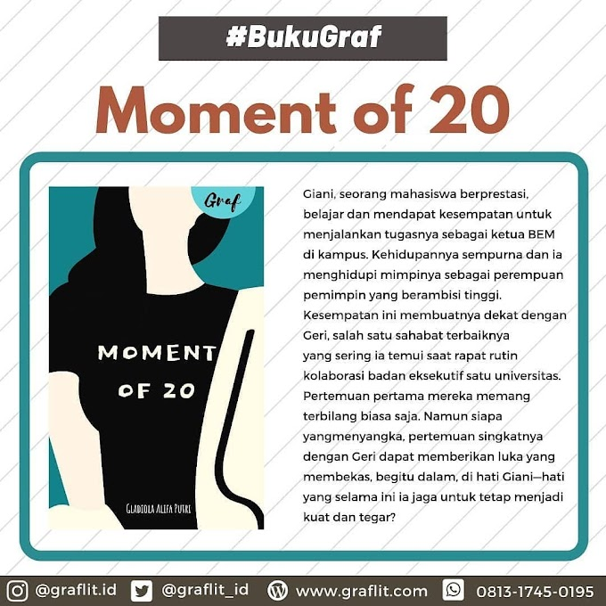 Novel Moment of 20 karya Gladiola A.P.
