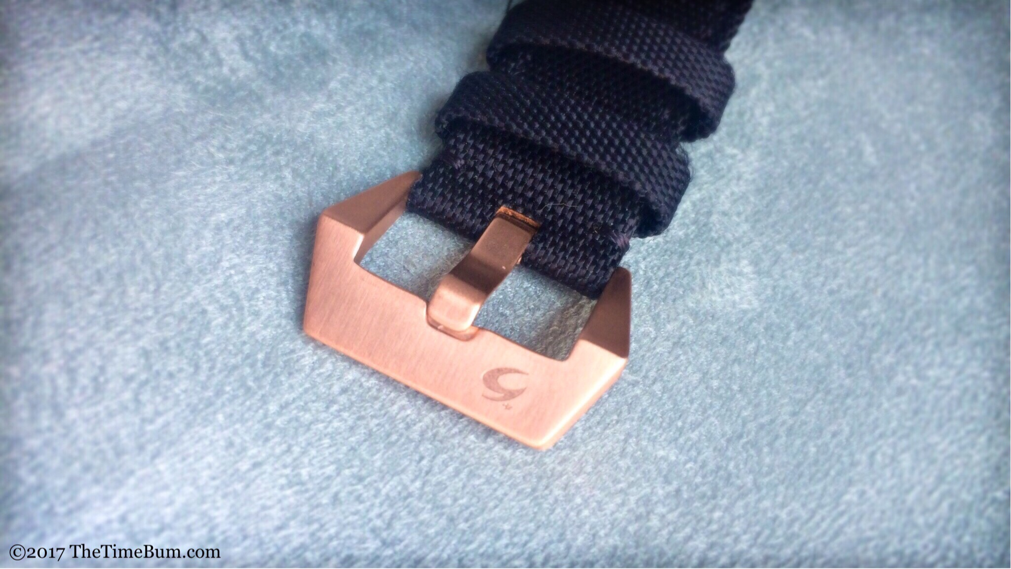 Scuro Bronzo buckle