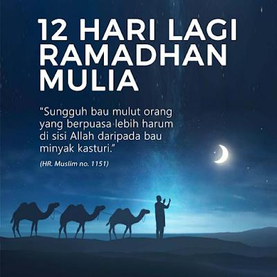 Wordles Wednesday |  12 hari menjelang Ramadan
