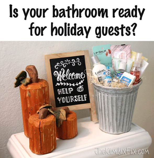 Bathroom for holiday guests