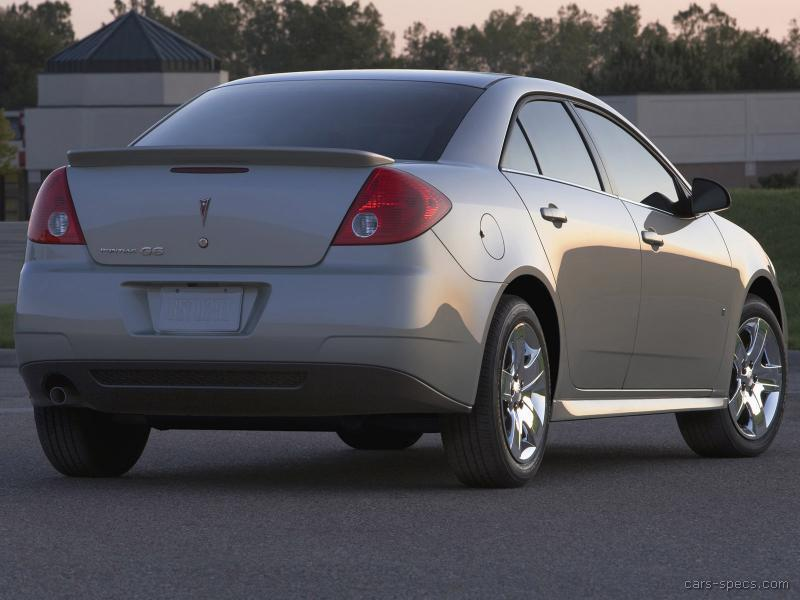 2008 Pontiac G6 Sedan Specifications Pictures Prices