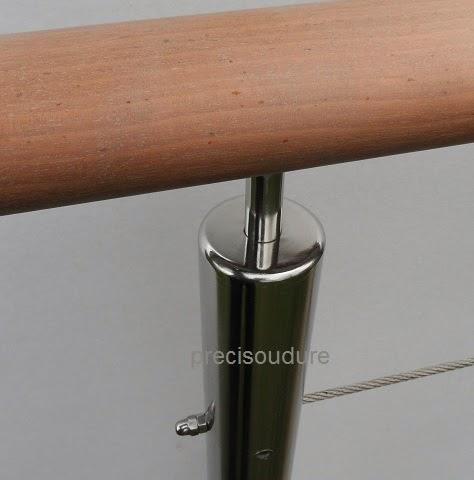 tube assemblé par soudure et poli miroir