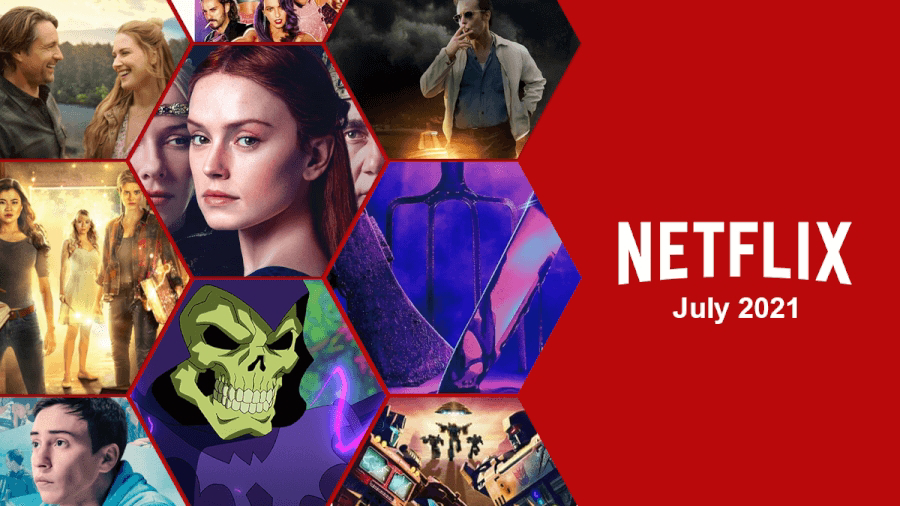 เนื้อหาแนะนำบน Netflix ประจำเดือนกรกฎาคม 2021