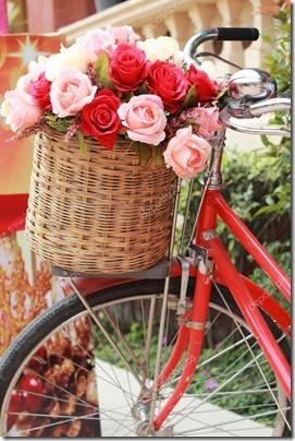 imágenes de bicicletas con flores (9)