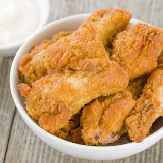 Mustard Fried Chicken Wings