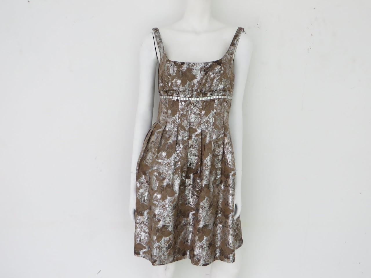 Carmen Marc Valvo Collection Dress
