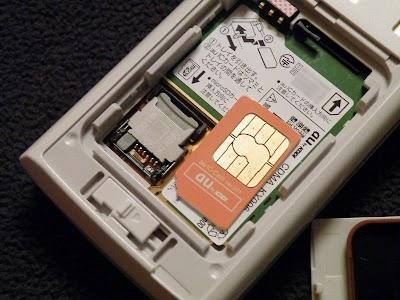K006にSIMを入れ替えるはずが…