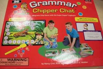 Grammar Chipper Chat Box