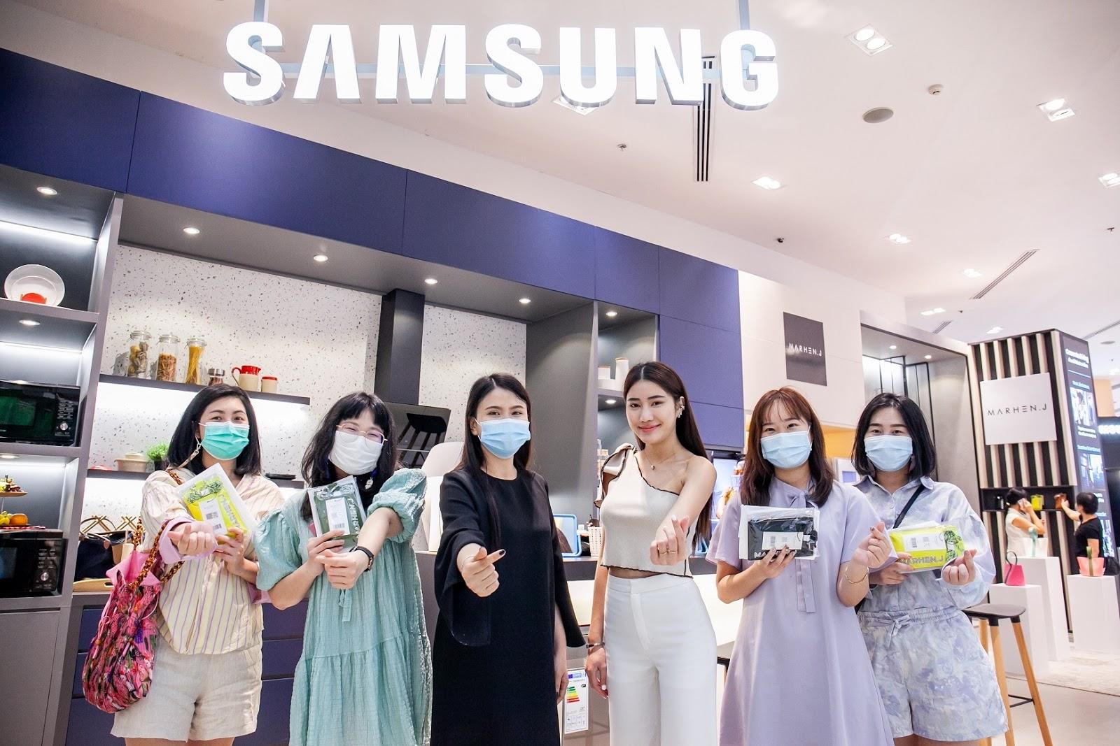 ครั้งแรกของแบรนด์เครื่องใช้ไฟฟ้า! Samsung เอาใจเหล่า Gen Z จับมือ MARHEN.J กระเป๋ารักษ์โลก จัดเวิร์คช้อปแนวใหม่ใจกลาง Siam Paragon