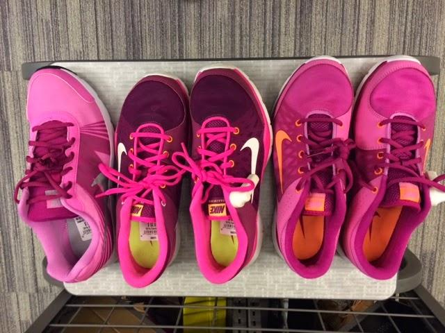 nike, sneakers, pink