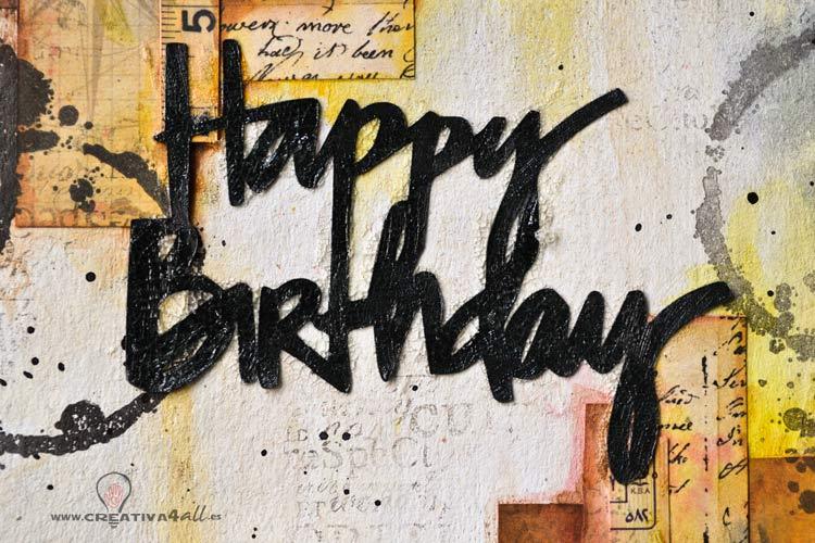 Happy Birthday Images Hombres ~ Tarjeta felicitacion manualidades