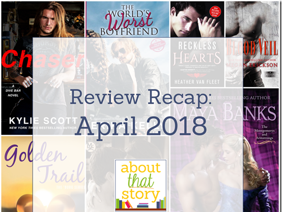 Review Recap: April 2018