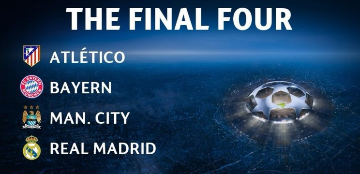 UEFA Champions League 2016 fial teams