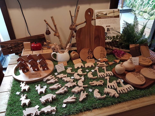 Cute wooden souvenirs from Lavender Cottage Taichung