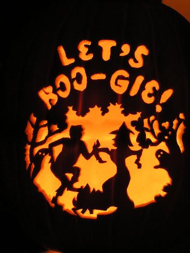 Let's Boogie  Pumpkin Carving