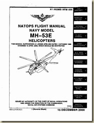 Aviation Archives: Sikorsky MH-53E Helicopter Flight Manual
