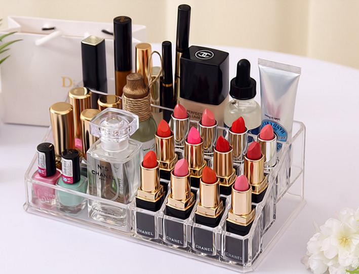 Acrylic Top Lipstick Holder
