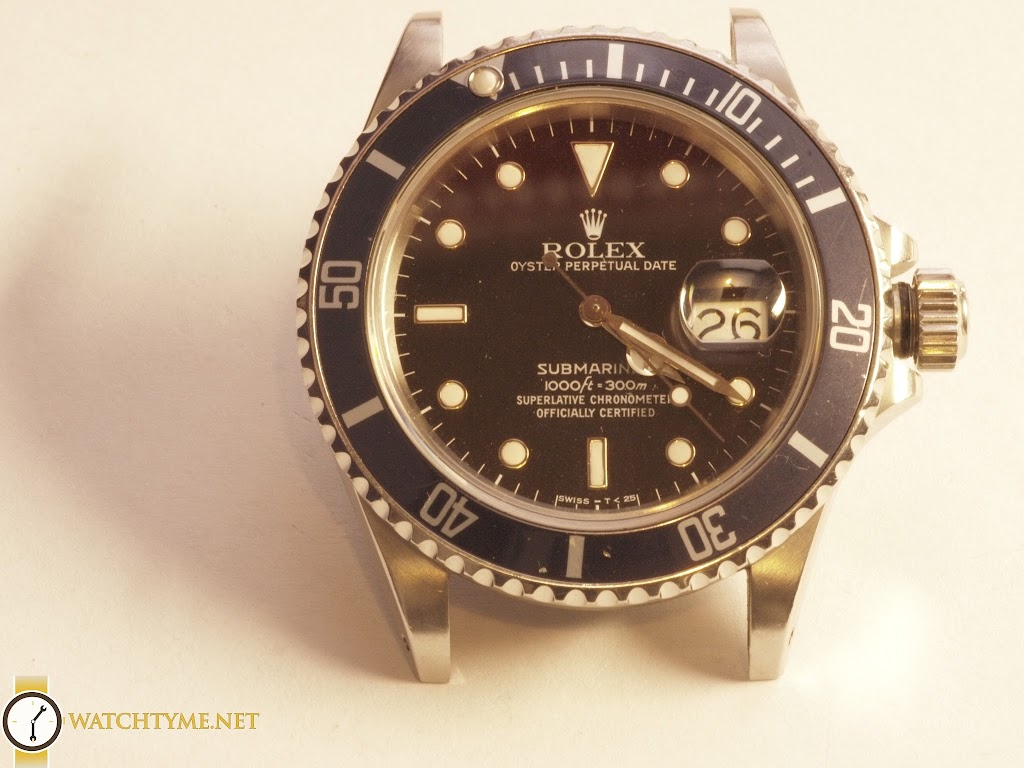 rolex submariner montreal watch repair watchtyme. Black Bedroom Furniture Sets. Home Design Ideas