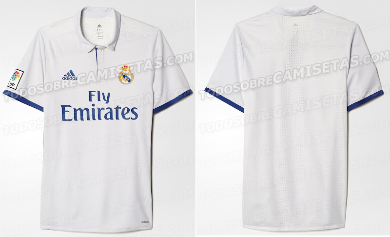 48f880f04 New Real Madrid 2016-17 Home Kit (Leaked)