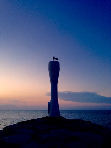 Lighthouse on Senok Beach