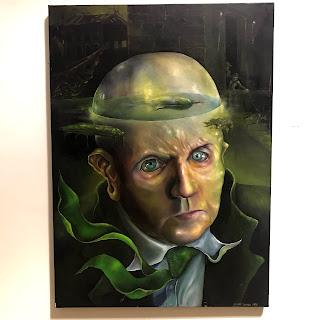 Jeramy Turner Signed Surrealist Oil