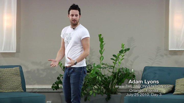 Adam Lyons The 21 Convention Orlando Florida, Afc Adam Lyons