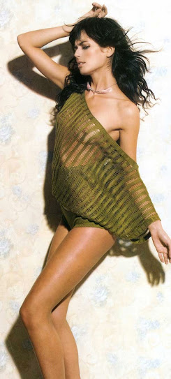 María Reyes, desnuda
