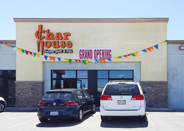 photo of the outside of Char House