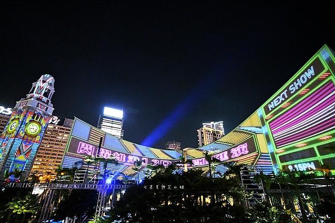 29 香港 閃躍維港 3D光雕匯演