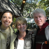 Standing with Michelle Gavin, US Ambassador to Botswana