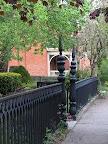 Wrought iron on Atkinson Street