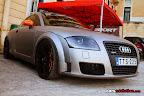 Wrapped Metallic Audi TT Quattro
