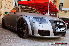 Wrapped Metallic Audi TT Quattro