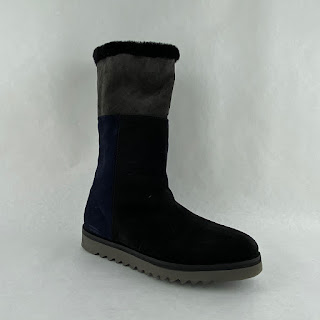 Aquatalia Black Shearling Boots