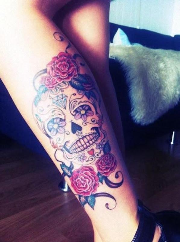 bela_perna_de_açcar_tatuagem_de_caveira