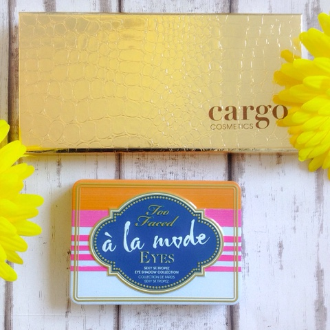 Too Faced A La Mode Eyes And Cargo Summer in The City Eyeshadow Palette