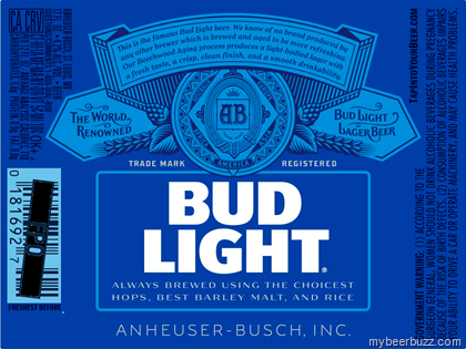 Bud Light Shows Off New Can Amp Bottle Designs Mybeerbuzz