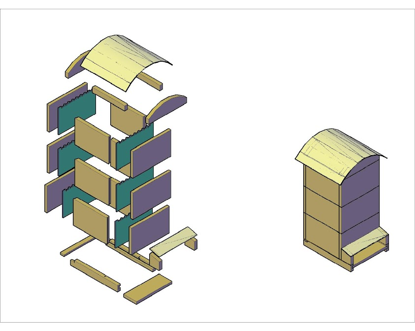 construction page 4 la ruche warr. Black Bedroom Furniture Sets. Home Design Ideas