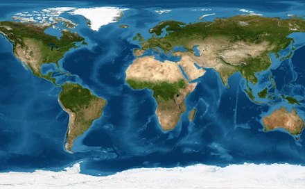 Οι αριθμοί που προκαλούν δέος με το πόσο μεγάλος είναι ο ωκεανός στη Γη