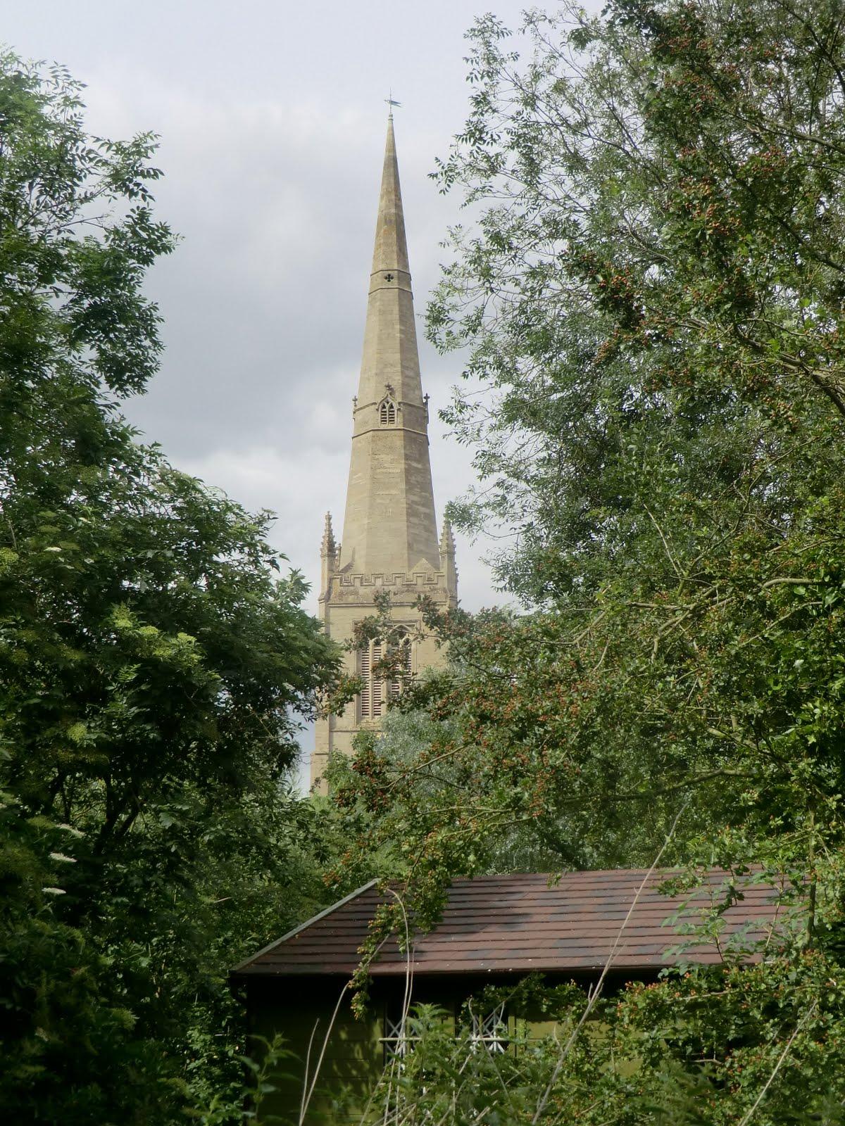 CIMG8939 All Saints church from Holt Island