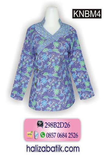 pakaian muslim, model batik kantor, baju batik indonesia