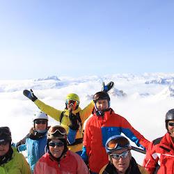 Dolomiti Skisafari - Marmolata ohne Blindflug ;-)
