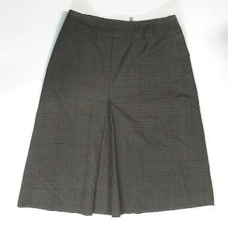 Prada Sport Gingham Skirt