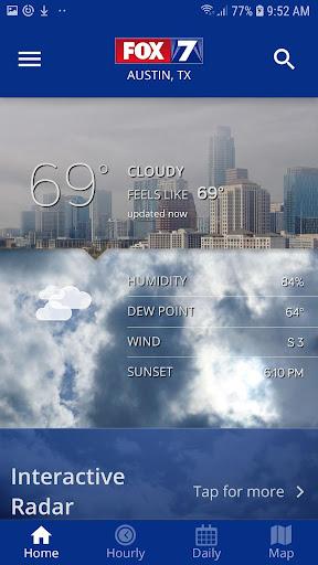Screenshot for FOX 7 KTBC WAPP – Weather & Radar in United States Play Store