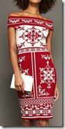 Ted Baker Red Bardot Knit Dress