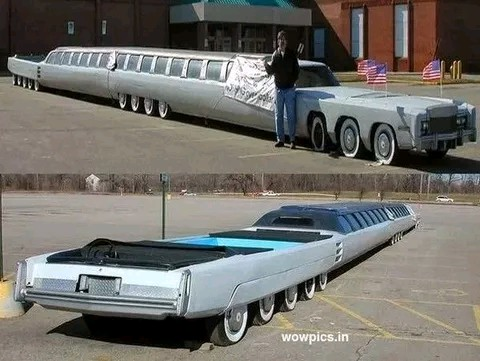 American Limousine longest in the world
