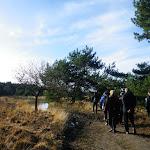 004-Nieuwjaarswandeling met de Bevers.Menno gidst ons door het mooie natuurgebied De Regte Heide te Go+»rle