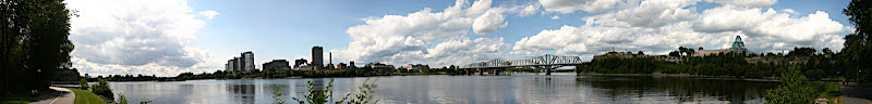 Ottawa River panorama