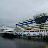 In de haven van Alesund.